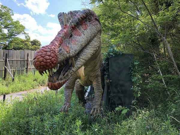 大高緑地恐竜探検ディノアドベンチャー