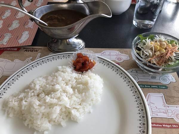 トヨタ博物館レストラン AVIEW(アビュー)