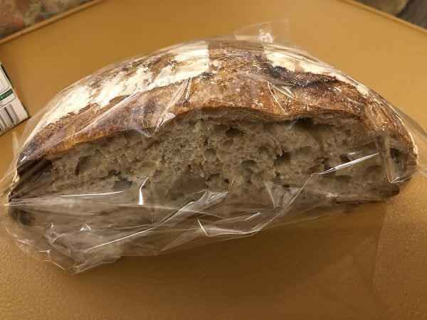 内子町の石畳のパン屋さん