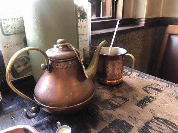 コーヒーショップKAKO(カコ)花車本店のモーニングシャンティルージュスペシャル