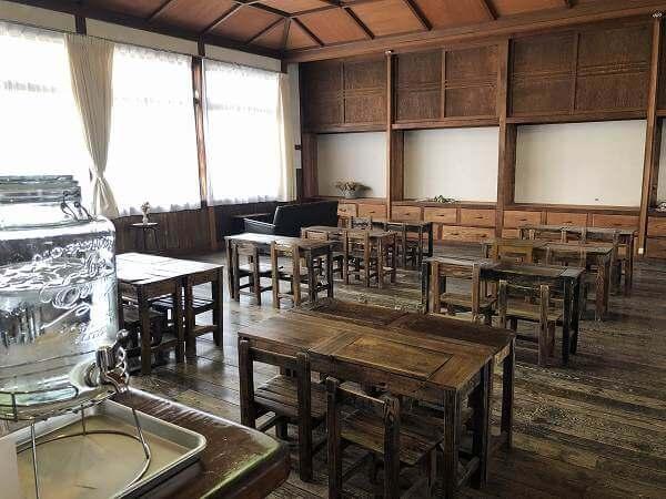 いなべ市の桐林館喫茶室
